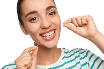 طریقه نخ دندان کشیدن کامپوزیت